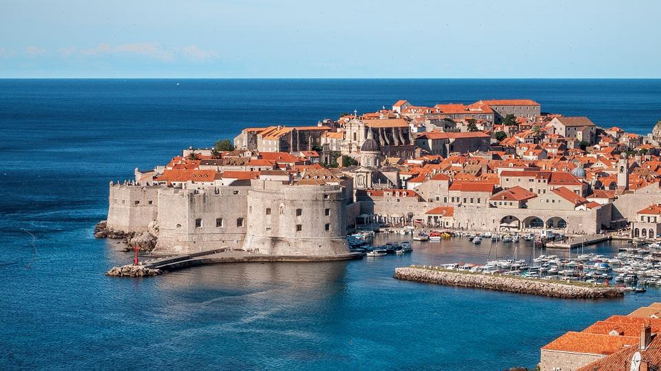 Dubrovnik - piękne, chorwackie miasto